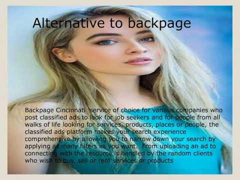 Backpage Cincinnati A Site Similar To Backpage