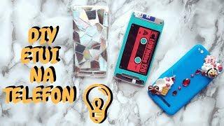 Jak zrobić case na każdy telefon?  3 pomysły DIY: kaseta, holo i słodka obudowa!