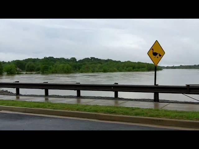 Flooded Bridge - Nashville Flood 2010