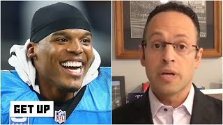 Cam Newton could become an 'alpha presence' in the Patriots' locker room - Mike Reiss | Get Up