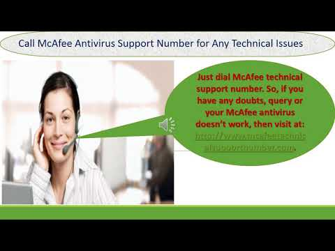 McAfee Antivirus Support Number| Online Contact Help