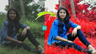 How Change Background Colour In B612 || B612 Best Photo Editing
