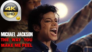 2021 - Michael Jackson   Restored Official Music Video - The Way You Make Me Feel 4K HD