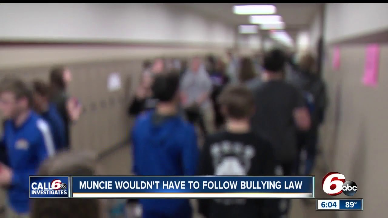 New Report On State Laws On Seclusion >> Bullying Seclusion Restraint Laws Wouldn T Apply To Muncie Schools