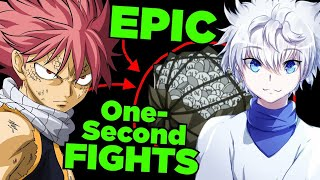 "vuclip When the ""Short Lame Fights"" are the most Badass - (ft Natsu Fairy Tail, Killua Hunter x Hunter)"