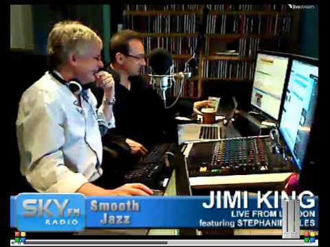Part 1 Sunday, June 03, 2012 Jimi King  emision Smooth Jazz Live from London Dave Koz currently in town  Brian Simpson popped into the live show