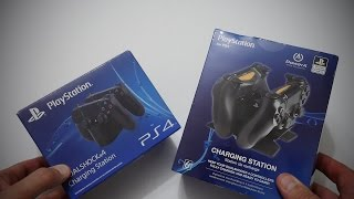 Two Dualshock 4 Charging Stations - My Review