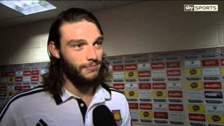 Andy Carroll glad to be back  at West Ham United