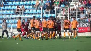 Rugby Cadets Alamercery RCT Toulon vs Narbonne Bagarre Générale Live TV Sports 2017/2018
