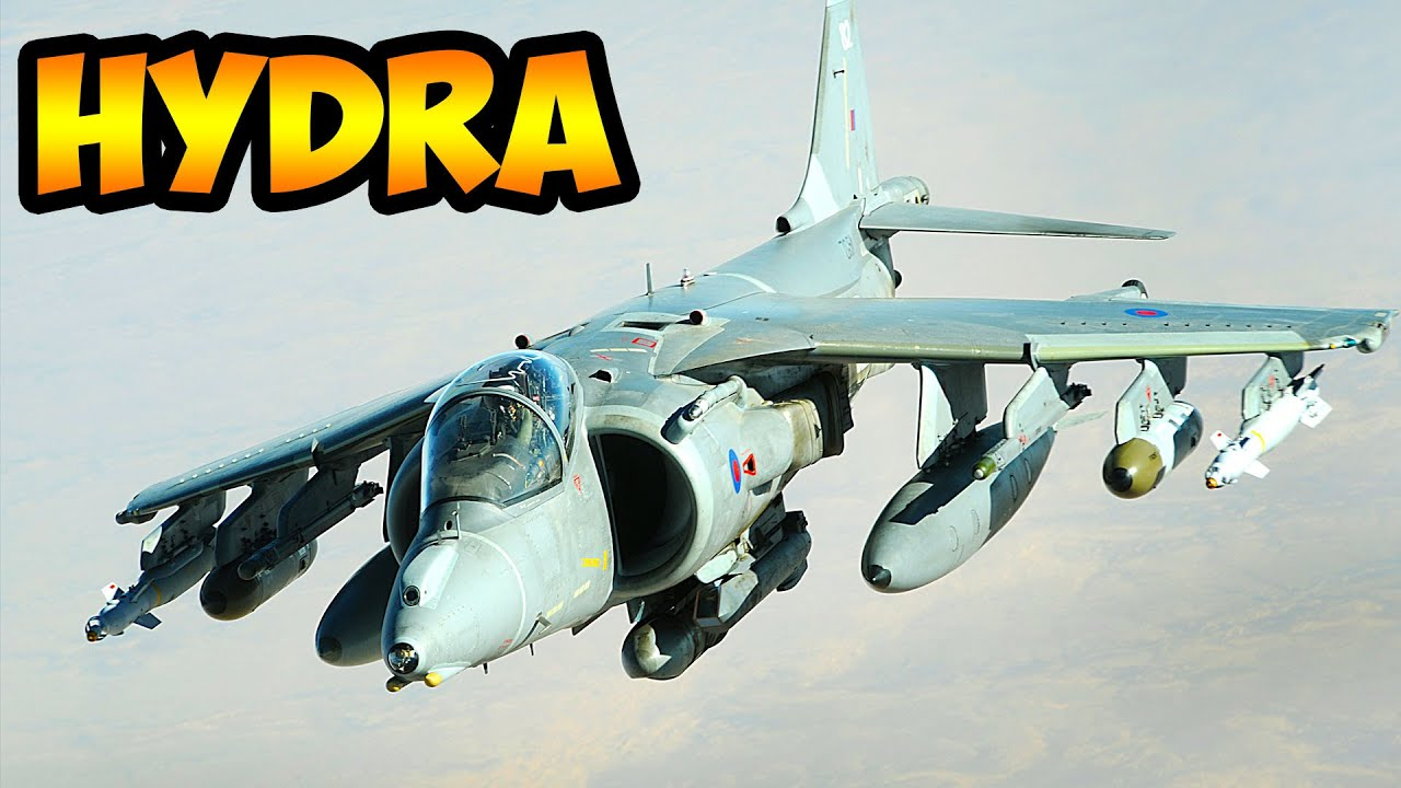 the multiple functions of the harrier fighter and the hybrid car