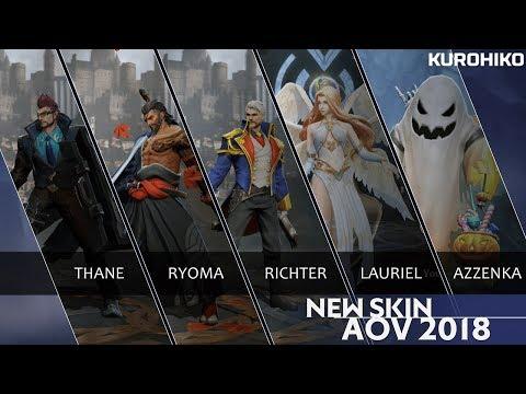 WOW SKin Baru Thane 😍 ! 10 Skin Baru AOV September 2018