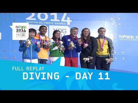 Diving - Day 11 Final Mixed International Team | Full Replay | Nanjing 2014 Youth Olympic Games
