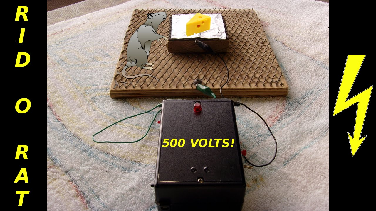 electric fence circuit diagram diy mopar ignition control module wiring rid-o-rat homemade electronic pest device - youtube