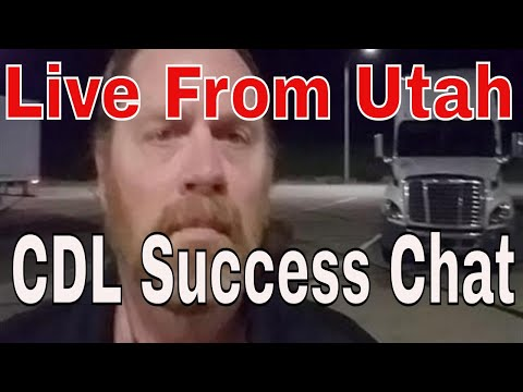 0100 In Utah CDL Trucking Success Chat With Red Viking Trucker | RVTGear.com
