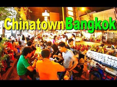 CHINATOWN Bangkok THAILAND - Yaowarat Road - Top Ten Tourism in Thailand [HD]