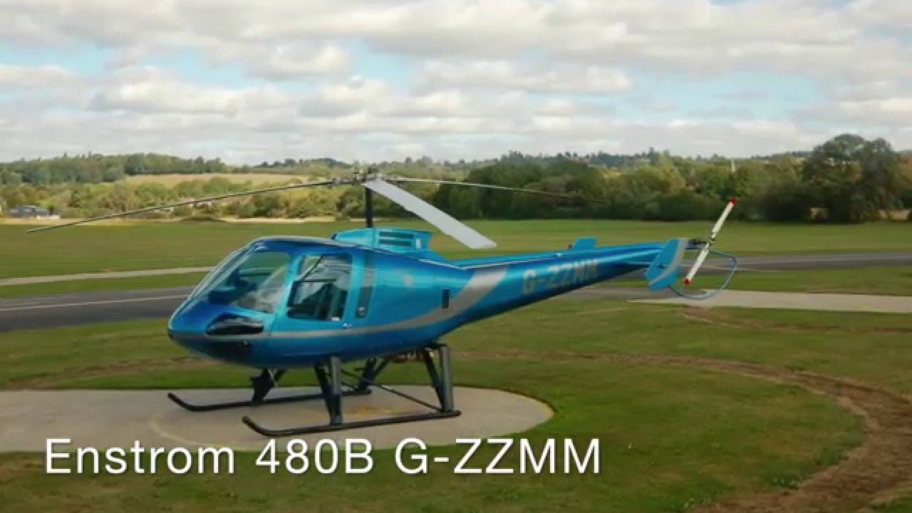 Helicopter Rides With Ollie Chadwick Solo - Enstrom 480B (10