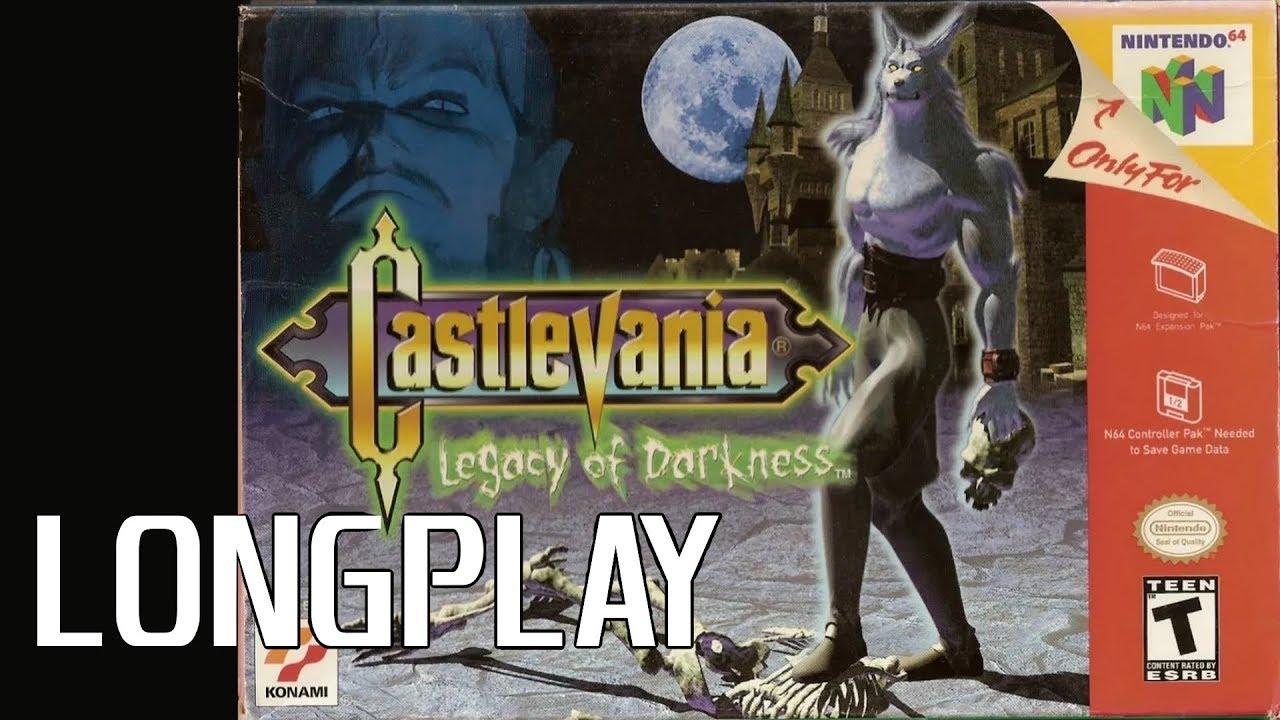 Castlevania Legacy of Darkness LONGPLAY | No-Commentary Nintendo 64 Actual Hardware Capture (720p)
