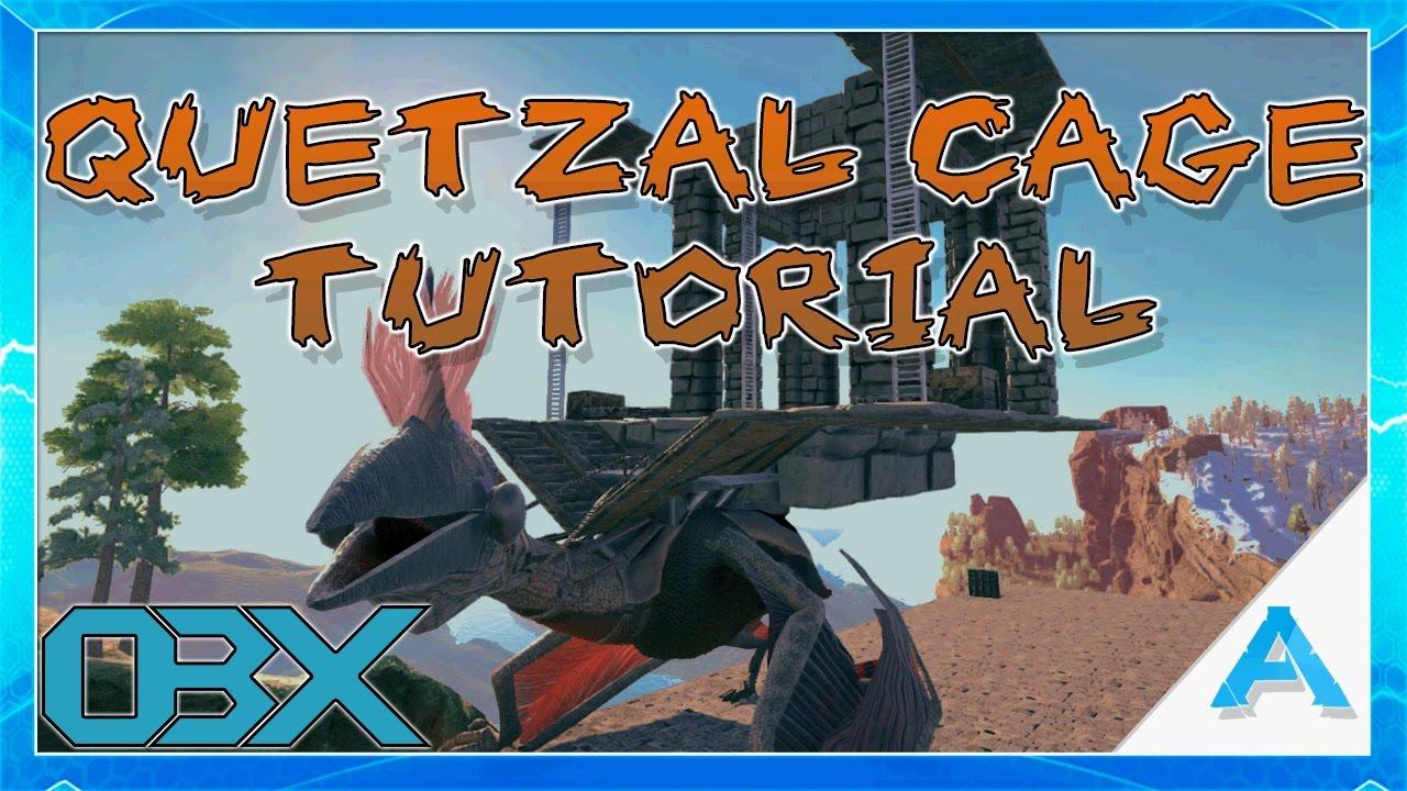 Ark the center quetzal cage tutorial s02e16 youtube ark the center quetzal cage tutorial s02e16 malvernweather Image collections