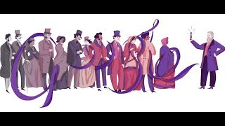 Sir William Henry Perkin's 180th Birthday - Google Doodle