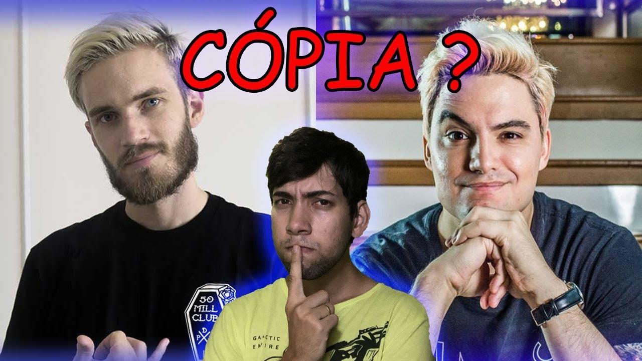 Download Felipe neto copiou Pewdiepie? | Tente não rir