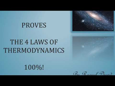Bible proves 4 Laws of Thermodynamics
