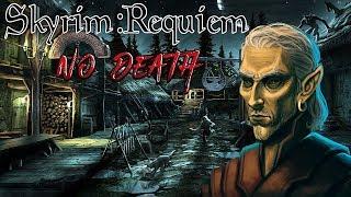 Skyrim - Requiem (без смертей, макс сложность) Альтмер-маг  #7 Уроки Нелота