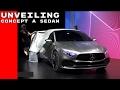 Mercedes Benz Concept A Sedan Unveiling