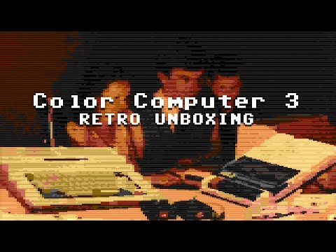 """Tandy Color Computer 3"" - Retro Unboxing"
