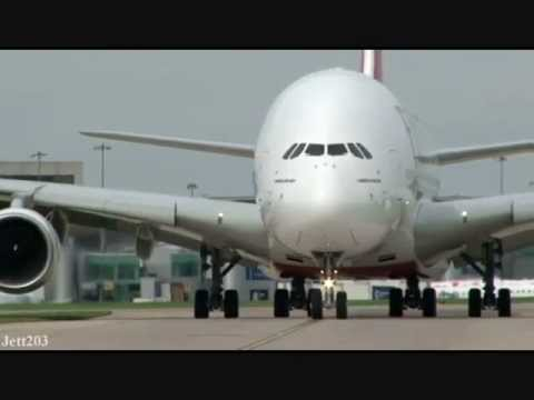 A380 Double Deck Take Off