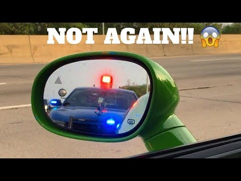 POLICE PULLED ME OVER IN MY HELLCAT & IT GOT HEATED!!