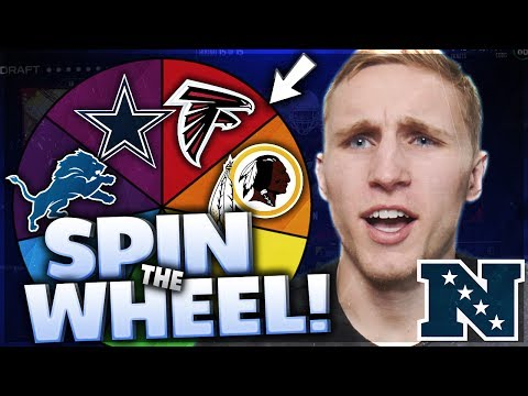 SPIN THE WHEEL OF NFC TEAMS! Madden 17 Squad Builder