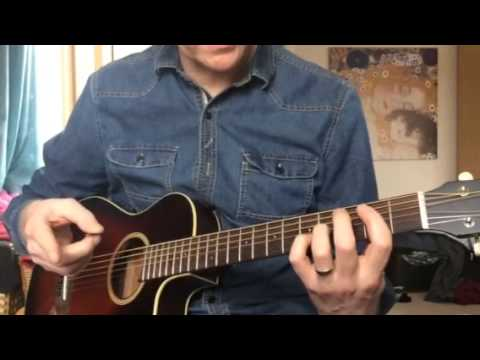 Ride with me Lemonheads acoustic guitar lesson music
