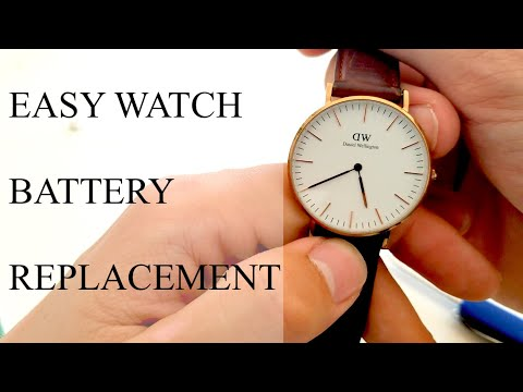 Easy & Cheap Watch Battery Replacement (Daniel Wellington)