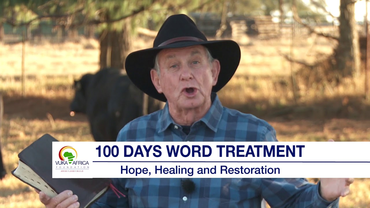 Angus Buchan encourages ALL South Africans to participate in the 100 Days Word Treatment.