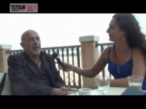 Intervista al M° Roberto Santucci a cura di Claudia Saba Tg Tour 5 Stelle  Sardegna TV