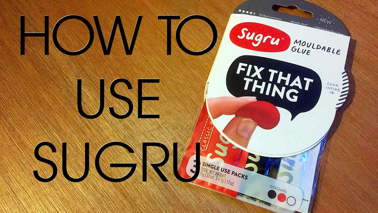 how to use sugru to protect cables youtube. Black Bedroom Furniture Sets. Home Design Ideas