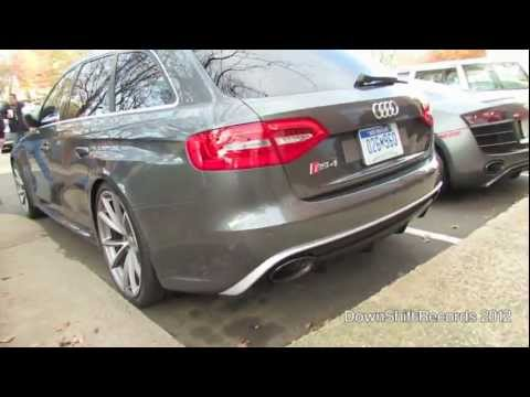 German Spec Audi RS4 Avant (B8) FIRST IN THE US! & Matte Black Audi R8