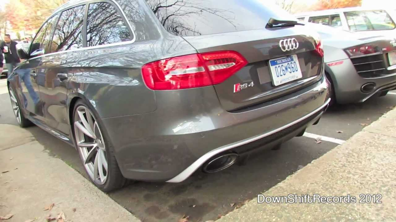 German Spec Audi Rs4 Avant B8 First In The Us Amp Matte