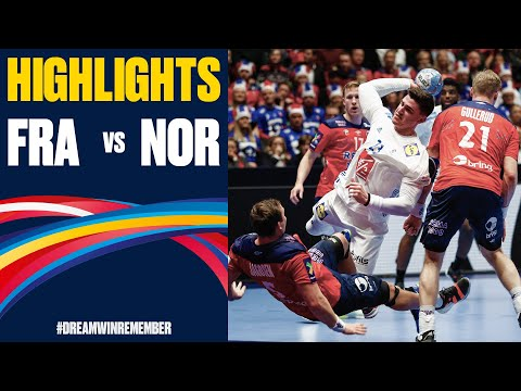 France vs. Norway Highlights | Day 4 | Men's EHF EURO 2020
