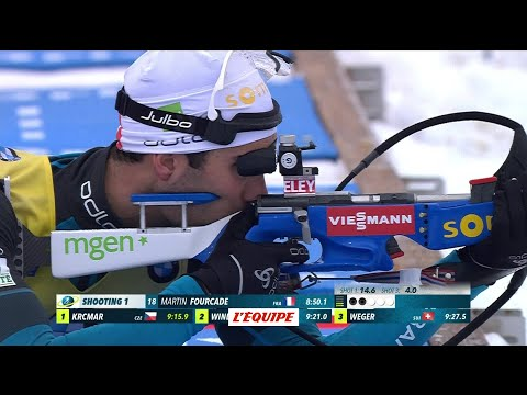 Biathlon - CM (H) : Fourcade remporte le sprint d'Oberhof