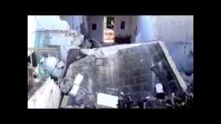 Fuga di gas,crolla abitazione pensionato estratto vivo dalle macerie