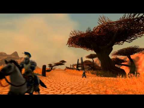 "Walking ""World of Warcraft"" in ""Southern Barrens"""
