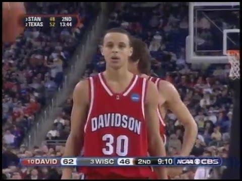 e80ab47c79c3 Stephen Curry Full Highlights 2008 NCAA Rigional SF vs Wisconsin - 33 Pts -  YouTube