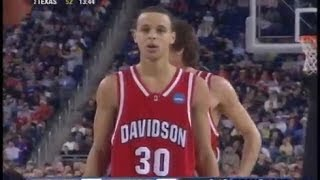 Stephen Curry Full Highlights 2008 NCAA Rigional SF vs Wisconsin - 33 Pts
