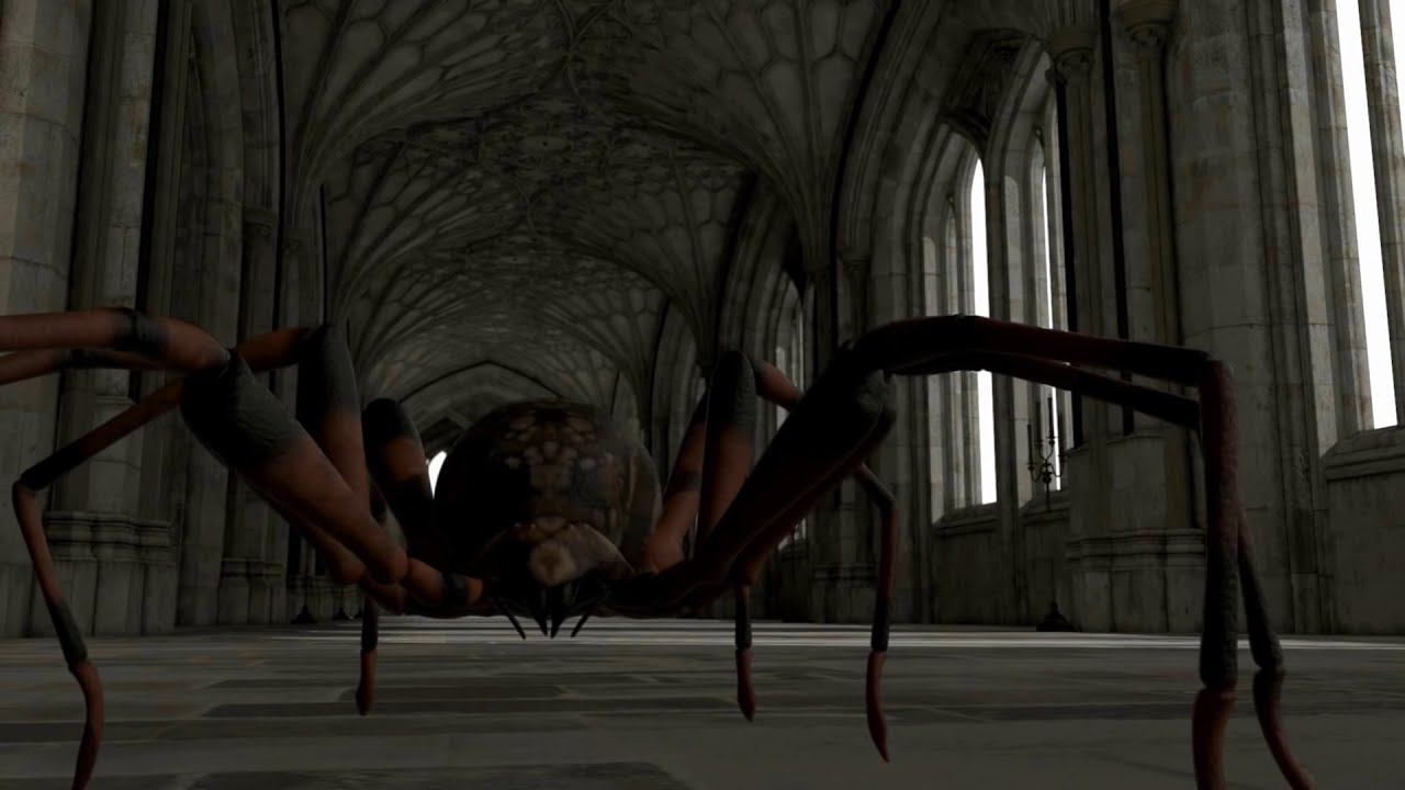 Download Giant Spiders Attack: cgi animation