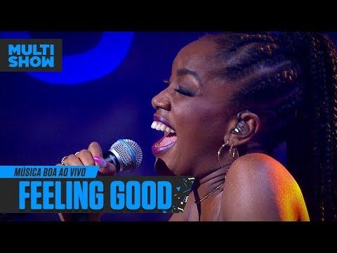 "IZA canta ""Feeling Good"", sucesso na voz de Nina Simone | Música Boa Ao Vivo ! Música Multishow"