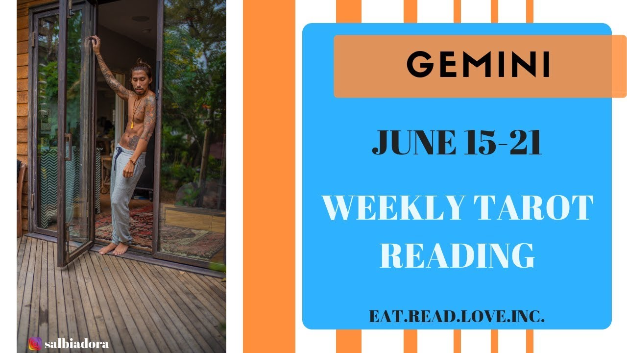 gemini weekly 15 to 21 horoscope tarot