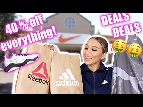Outlets were LIT! Adidas, Nike, Puma | Yes For Less