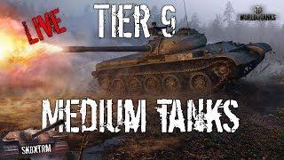 Tier 9 Medium Tanks - Live