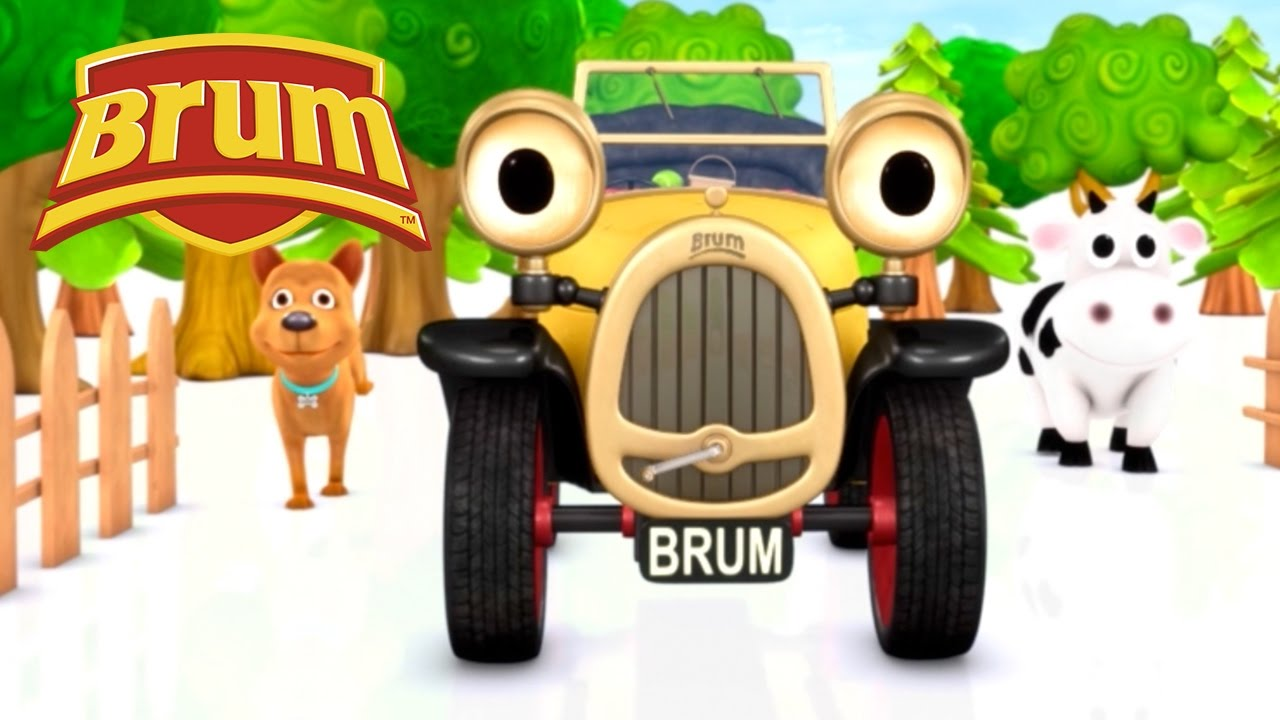 Brum Picnic In The Forest Kids Show Full Episode Youtube